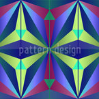 Mysteriöse Geometrie  Nahtloses Vektormuster