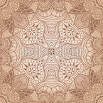 The Secret Of The Desert Seamless Vector Pattern Design