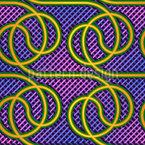 Dança Tubo Design de padrão vetorial sem costura