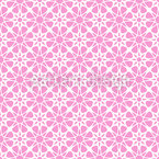Floral Crystal Seamless Vector Pattern Design