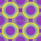 DJ Circles Vector Pattern
