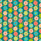 Vintage Garden Repeating Pattern