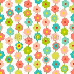 Flower Curtain Pattern Design