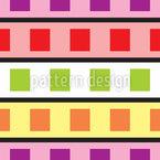 Farbfilm Geometrie Nahtloses Vektormuster