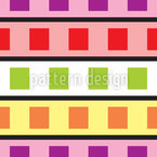 Technicolor Geometry Seamless Vector Pattern Design