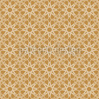 Floral Desert Seamless Vector Pattern Design