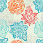 Mandala Dreams Seamless Vector Pattern Design