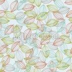 Tagträumen Unter Bäumen Vektor Muster