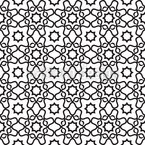 Islamic Tile Seamless Vector Pattern Design