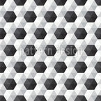 Hexagon Honeycomb Seamless Vector Pattern Design