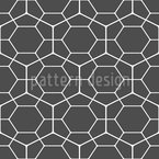 Hexagon Netz Seamless Vector Pattern