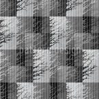 Misty Trees Seamless Vector Pattern Design