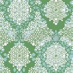 Frühlings Kristalle Nahtloses Vektor Muster