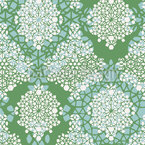 Spring Crystals Seamless Vector Pattern Design