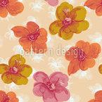 Frisches Blumenmuster Muster Design