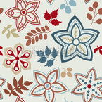 Gorgeous Autumn Mix Seamless Vector Pattern