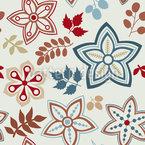 Hinreissender Herbst Mix Nahtloses Vektor Muster