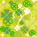 Irisches Glück Musterdesign