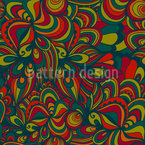 Psychedelica Seamless Vector Pattern Design