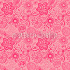 Sweet Butterfly Fantasy Seamless Vector Pattern Design