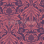 Damask Nostalgia Seamless Vector Pattern Design
