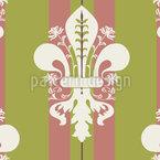 Iris Classique Motif Vectoriel Sans Couture