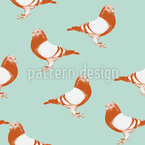 My Dove Seamless Vector Pattern Design