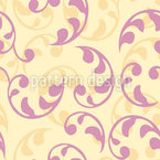 Foliage Renaissance Seamless Vector Pattern Design