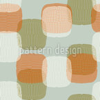 Retro Lampions Seamless Vector Pattern