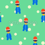 Cool Winter Kids Design Pattern