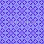 Gotisch Arabisches Netzwerk Nahtloses Vektor Muster