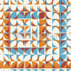 Tiled Geometry Seamless Vector Pattern Design
