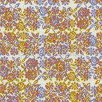 Rosas de pixel Design de padrão vetorial sem costura