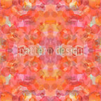 Petal Kaleidoscope Vector Ornament