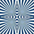 Marine Hypnose Nahtloses Vektormuster
