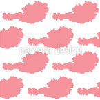 Points For Austria Seamless Vector Pattern Design