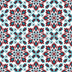 Winter Gothic Repeat Pattern