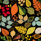 In The Leaf Museum  Seamless Vector Pattern Design