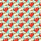 Herzensbrecher Nahtloses Vektormuster