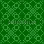 Gotik Im Grünen Nahtloses Vektor Muster