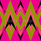 Pink Pop Deco Seamless Vector Pattern Design