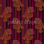 Paisley Design de padrão vetorial sem costura