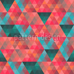 Triangle Mosaic Seamless Vector Pattern Design