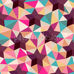 Stars Sugar Sweet Seamless Vector Pattern Design