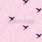 Kolibri Damast Rapportiertes Design
