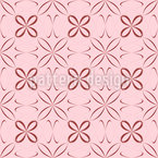 Sheer Flowers Seamless Vector Pattern Design