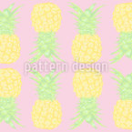 Pineapple Seamless Vector Pattern Design
