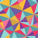 Wildes Mosaik Rapportiertes Design