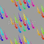 Happy Pixel Rain Design Pattern