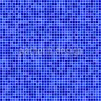 Mosaicos píxeles Estampado Vectorial Sin Costura